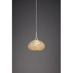 Laguna 1-Light Globe Pendant by Bruck Lighting