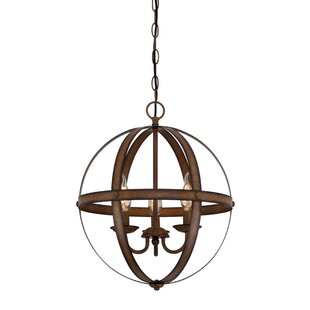Genna 3-Light Globe Chandelier