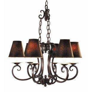 Woodbridge Lighting Montgomery 6-Light Shaded Chandelier
