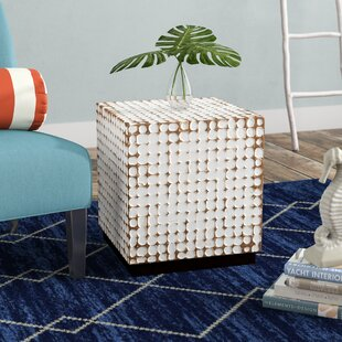 Sherlyn Handcrafted End Table by Beachcrest Home