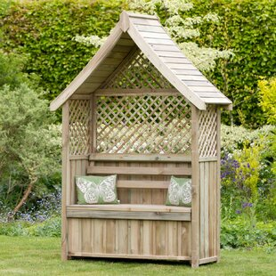 Norfolk Wooden Arbour By Home & Haus