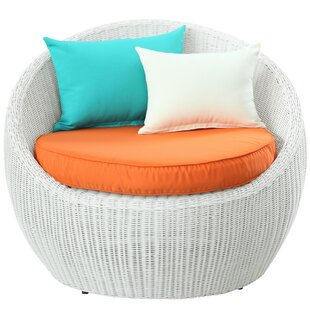 Modway Luna Deep Seating Chair with Cushi..