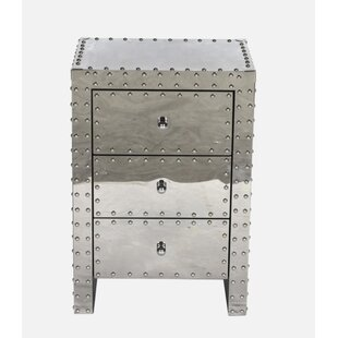 17 Stories Victor 3 Drawer Nightstand