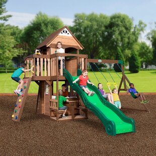 Mount Triumph Swing Set. By Backyard Discovery