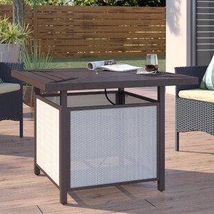 Katsikis Patio Aluminum Propane Fire Pit Table by Ebern Designs
