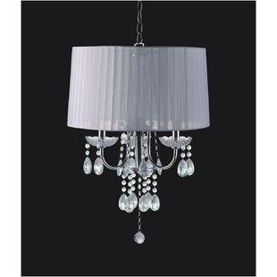 Mclaren 3-Light Crystal Chandelier