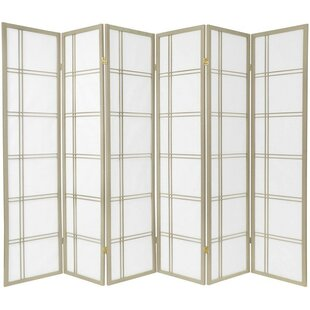 Find Marla 6 Panel Room Divider By World Menagerie