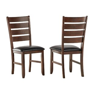 Read Reviews Delphine Solid Wood Dining Chair (Set of 2) by Winston Porter Reviews (2019) & Buyer's Guide