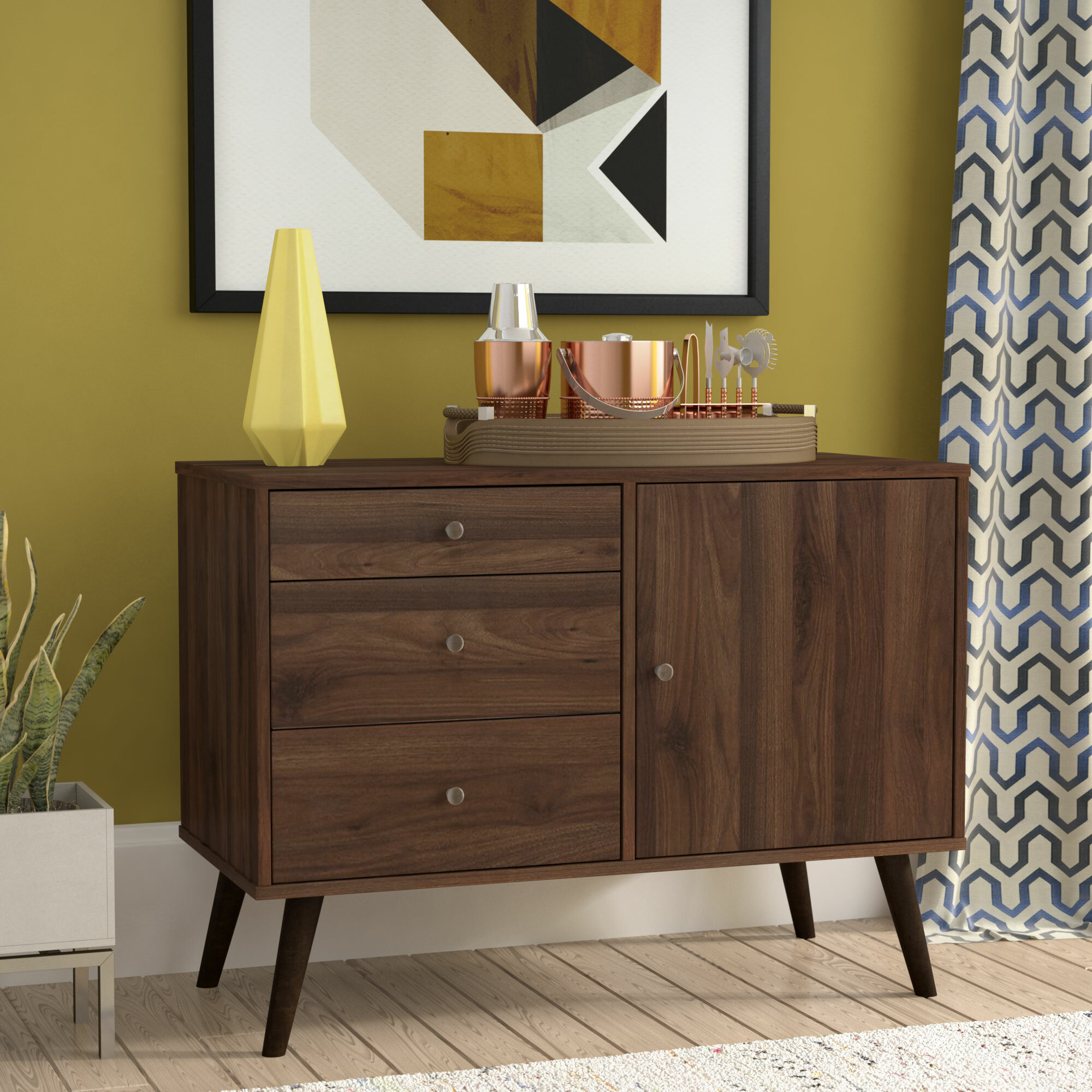 Picture of: Mid Century Modern Sideboards Buffets You Ll Love In 2020 Wayfair