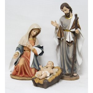 3 Piece Nativity Figurine Set