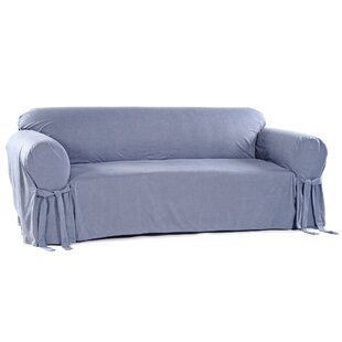 Classic Slipcovers Box Cushion Sofa Slipcover