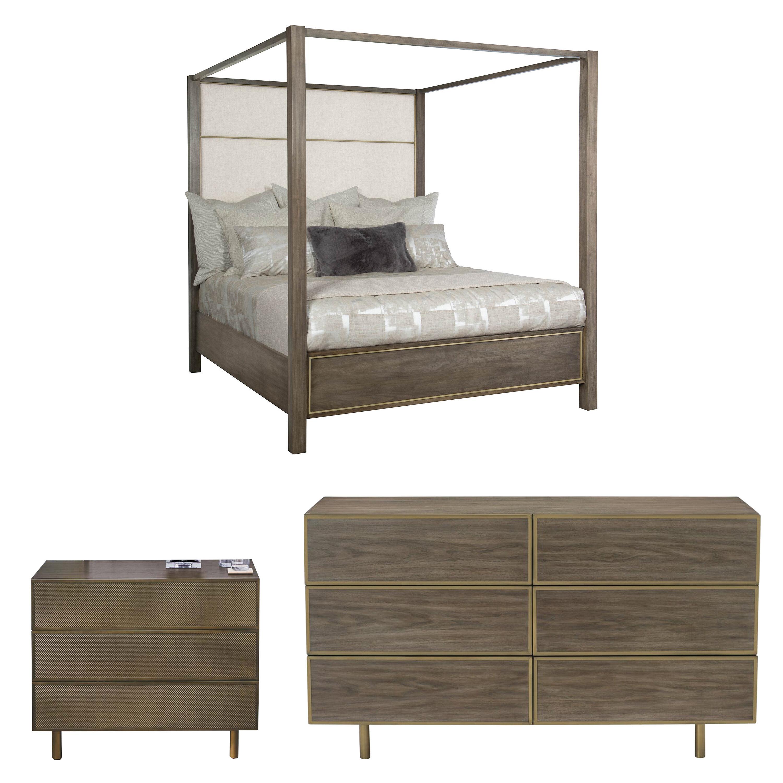 Bernhardt Profile King Canopy Configurable Bedroom Set | Wayfair