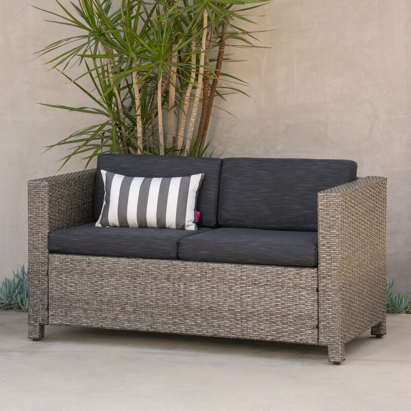 Outdoor Armchair Cover Sorara Sofa Cover Brow Single Seater Water Resistant Outdoor Furniture Covers Yard Garden Outdoor Living