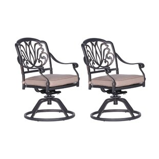 World Menagerie Beaufort Patio Chair with..