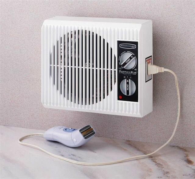 Off the Wall Bed/Bathroom Heater