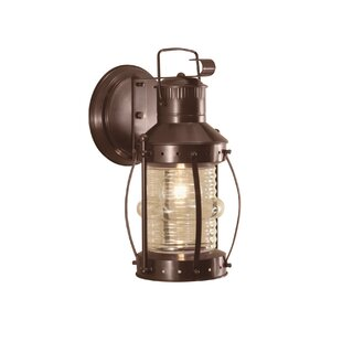 Juliette 1-Light Outdoor Wall Lantern By Breakwater Bay Outdoor Lighting