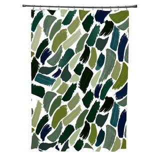 Goodlow Abstract Single Shower Curtain