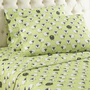 Chittenden Sheep Flannel Polyester Sheet Set