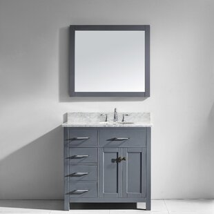 Savitsky 35 inch  Single Bathroom Vanity Set with Mirror