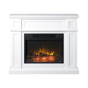 Tracie Electric Fireplace by C..
