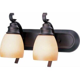 Rainier 2-Light Vanity Light by Volume Lighting
