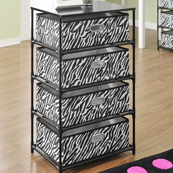 Altra 4 Bin Storage End Table U0026 Reviews | Wayfair