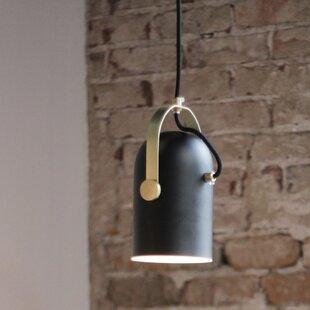Ivy Bronx Damien 1-Light Cylinder Pendant