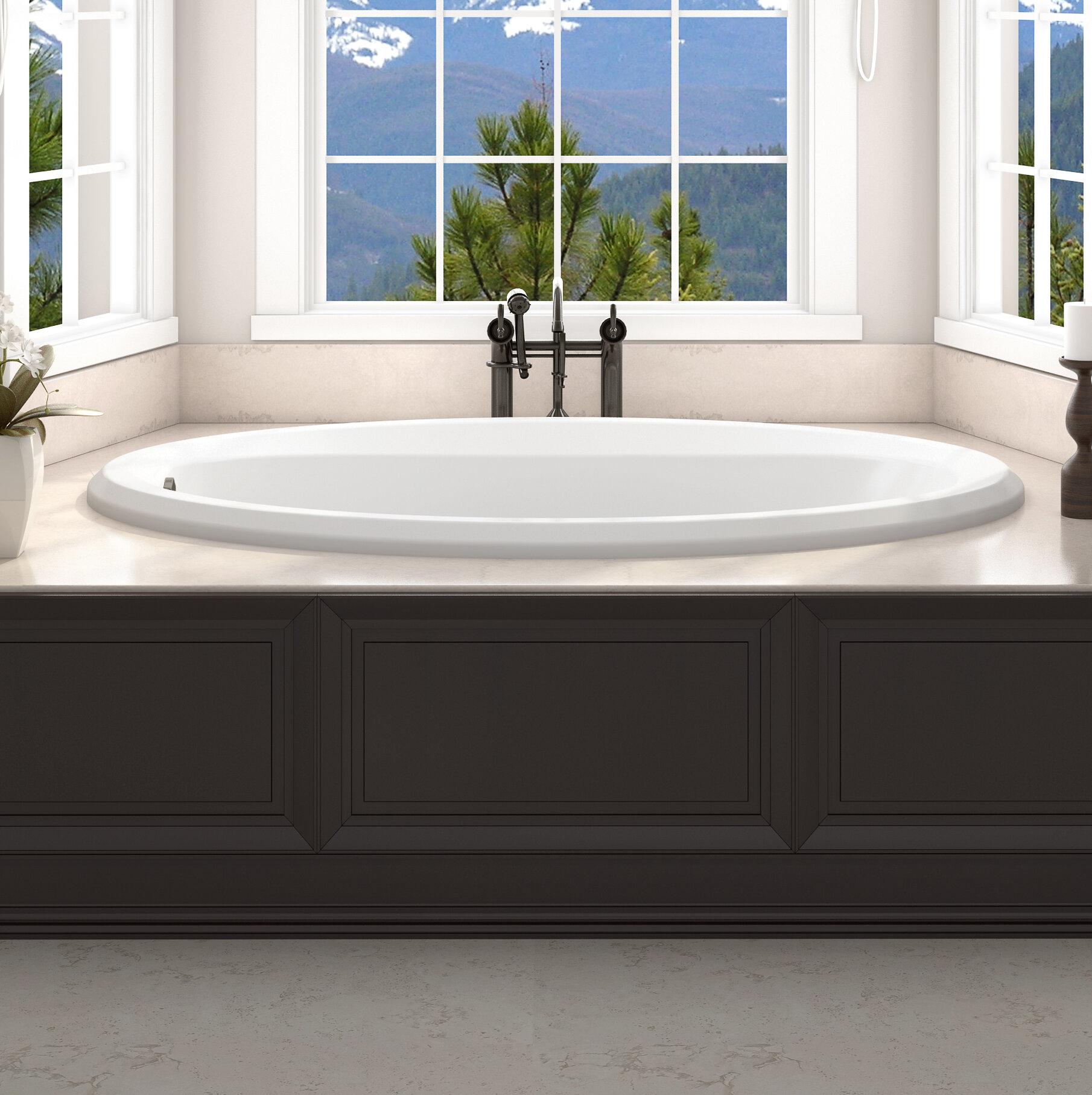 Jacuzzi Signature 72 X 36 Drop In Whirlpool Bathtub Wayfair
