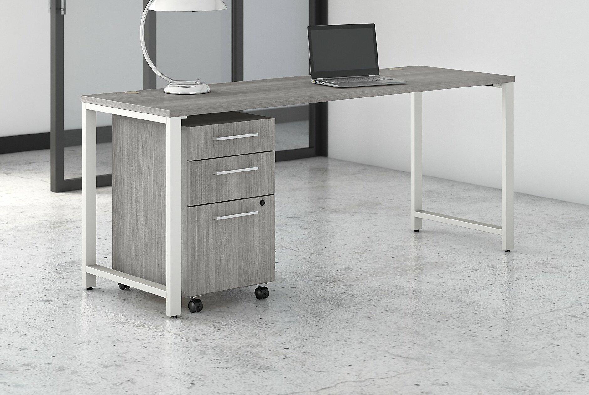 Bush Business Furniture 400 Series Reversible Desk Wayfair