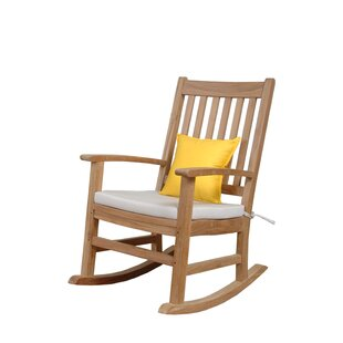 Palm Beach Teak Rocking Chair