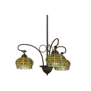 Meyda Tiffany Victorian Jewe LED Shaded Chandelier