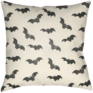 Dreher Bat Indoor/Outdoor Throw Pillow