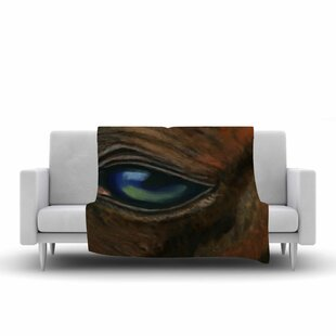 Compare & Buy Cyndi Steen Arabian Eye Animals Fleece Blanket ByEast Urban Home