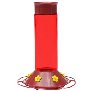 Woodstream Perky Pet Hummer's Favorite Hummingbird Feeder with Free Nectar