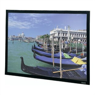 Perm-Wall Fixed Frame Projection Screen by Da-Lite Best