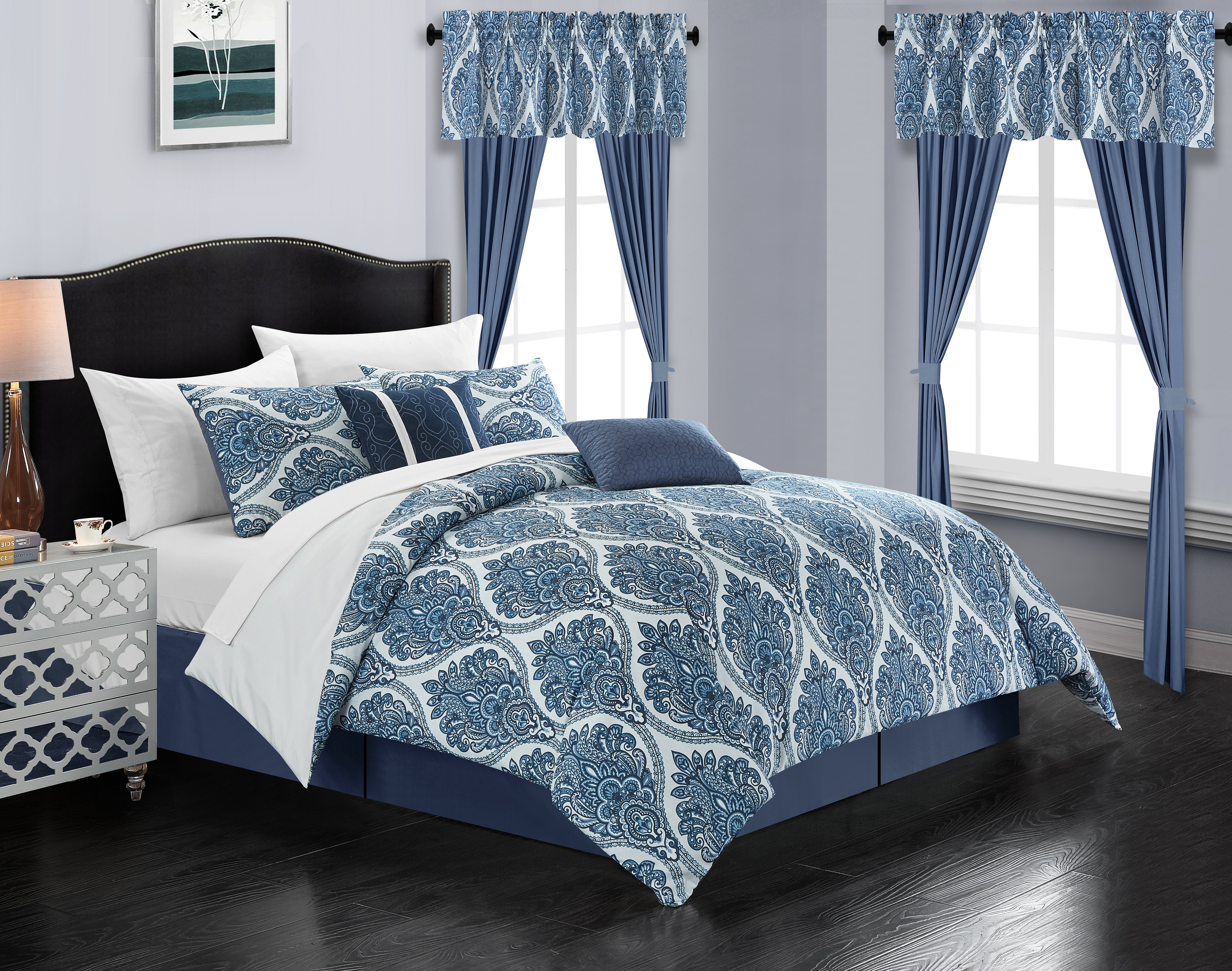 Alcott Hill Runkle 20 Piece Bed In A Bag Comforter Set Reviews Wayfair