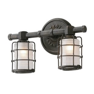 Williston Forge Demarest 2-Light Vanity Light