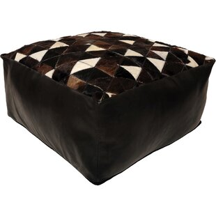 Arceneaux Leather Pouf