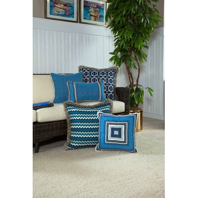Speirs Medium Indoor/Outdoor Sunbrella Throw Pillow by Bay Isle Home No Copoun