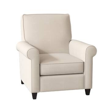 Rodrick Genuine Leather Manual Recliner Reviews Birch Lane