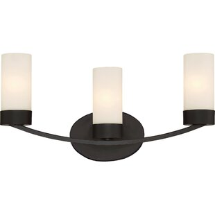 Sanderson 3-Light Vanity Light By Andover Mills Wall Lights
