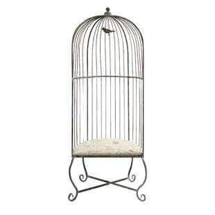 Nicolle Fashionable Birdcage Balloon Chair by Ophelia & Co.