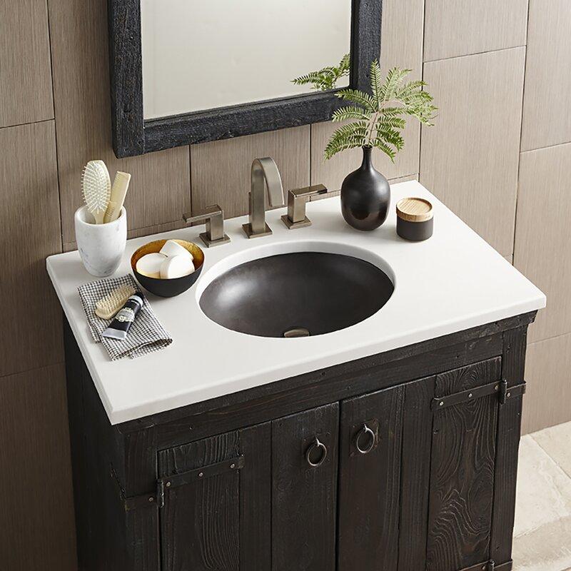 wayfair bathroom sinks. Tolosa Stone Oval Drop In Bathroom Sink Apron Front  Wayfair