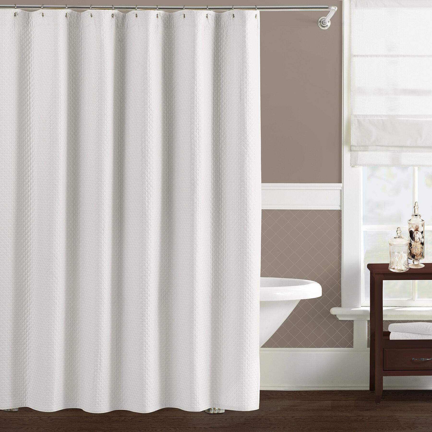 the twillery co freman cotton home shower curtain wayfair