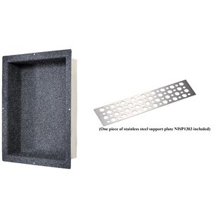 Shower Niche With Support Plate