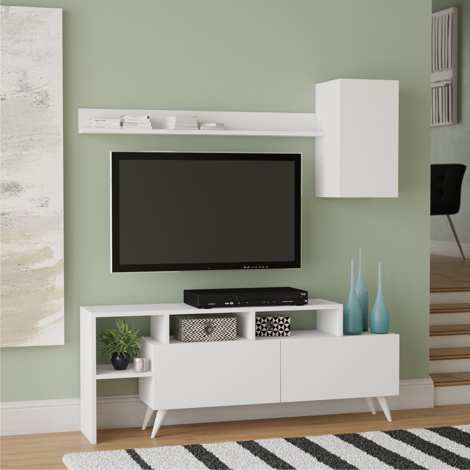 Wrought Studio Paislee Tv Stand For Tvs