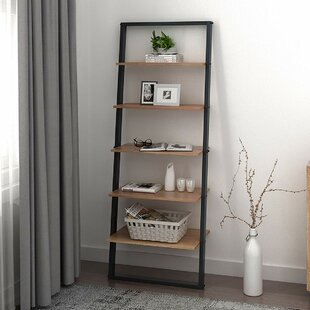 Vestavia 5 Tier Ladder Bookcase