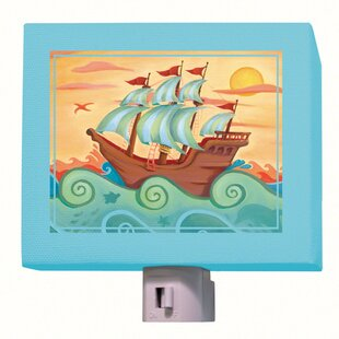 Oopsy Daisy Pirate Ship Night Light