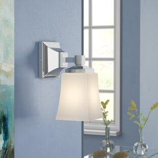 Read Reviews Bembery 1-Light LED Bath Sconce ByEbern Designs