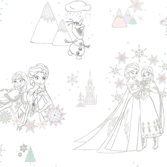 Disney Frozen Peel And Stick Wallpaper